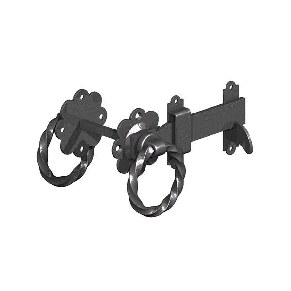 TWISTED-RING-LATCH-BLACK