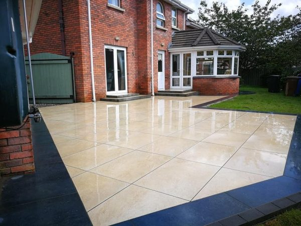 Porcelain Paving - Eglantine Timber